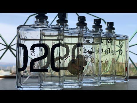 Парфюмы. Молекулы и Эсцентрики (01, 02, 04)
