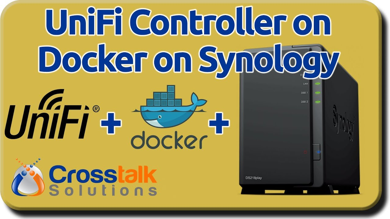 UniFi Controller on Docker on Synology