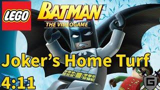 [WR] Joker's Home Turf In 4:11 - LEGO Batman: The Videogame