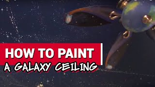 How To Paint A Galaxy Ceiling - Ace Hardware