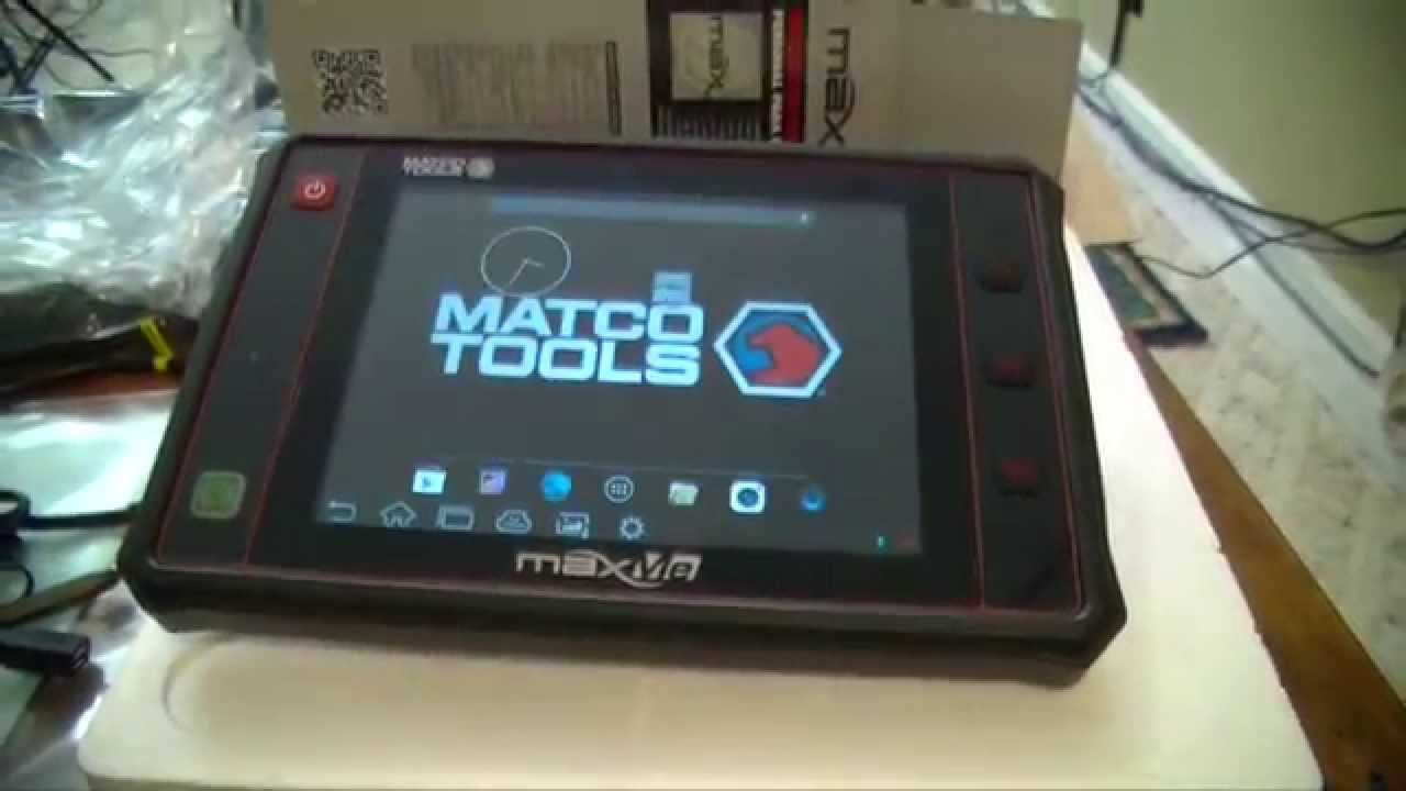 Matco Tools MaxMe Scanner First Look