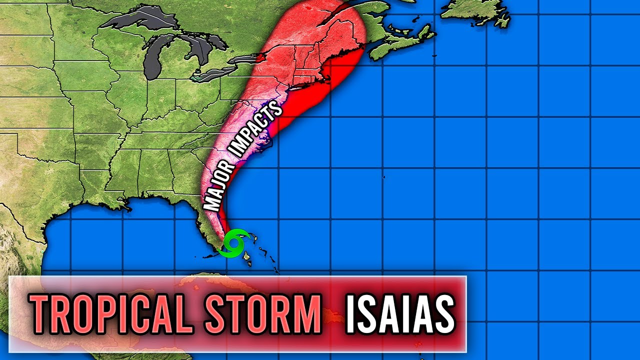Tropical Storm Isaias Forecast