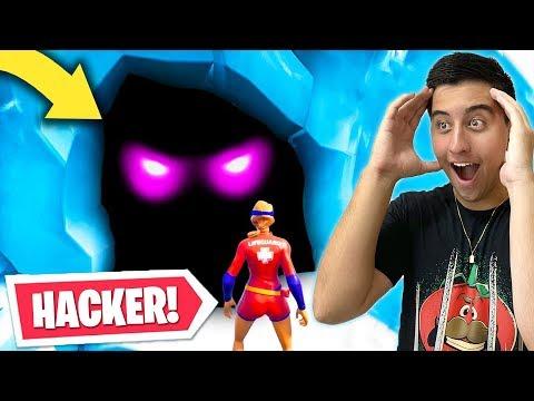Hacker Consegue Entrar DENTRO da Rachadura do Pico Polar Fortnite Temporada 9