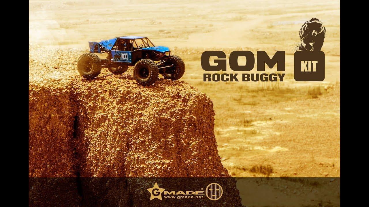 🎁 Gmade GOM GR-01 Rock Buggy Kit ˗ Unboxing & Vorstellung