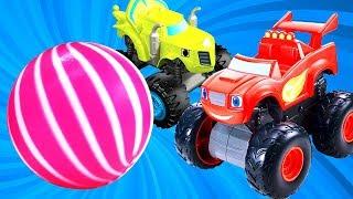 Мультики для детей — Видео про машинки — Новый мяч для Вспыша