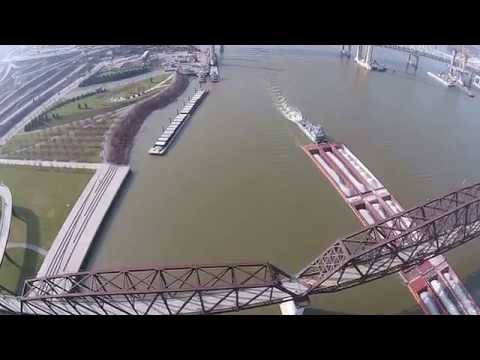 300 Feet over the Ohio River