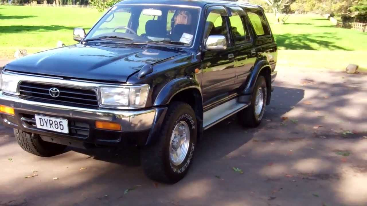 1995 toyota hilux surf ssr x turbo diesel 1 reserve. Black Bedroom Furniture Sets. Home Design Ideas