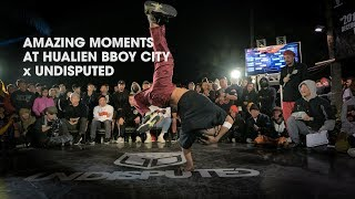 AMAZING MOMENTS at HUALIEN BBOY CITY x UNDISPUTED // .stance thumbnail