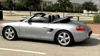 1999 Porsche Boxster Polar Silver Metallic Autos of Palm Beach