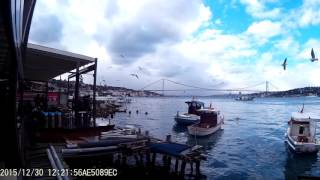 Набережная Босфора, вид из кафе.(, 2016-01-07T18:33:30.000Z)