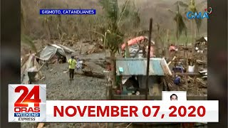 24 Oras Weekend Express: November 7, 2020 [HD]