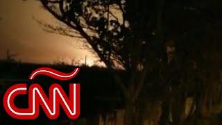 Así se estrelló el avión ucraniano en Teherán: video capta momento