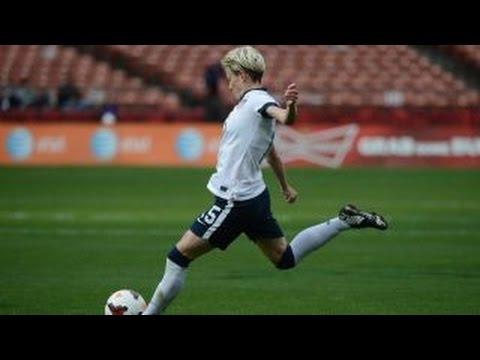 U.S. soccer's Megan Rapinoe on alleged gender pay gap