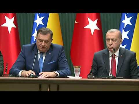 Erdogan cijeni naše razlike u pogledu ulaska BiH u NATO