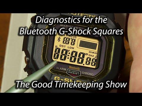 Diagnostics For Bluetooth G Shock Squares