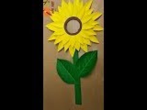 Making Paper Sunflower Costume Youtube
