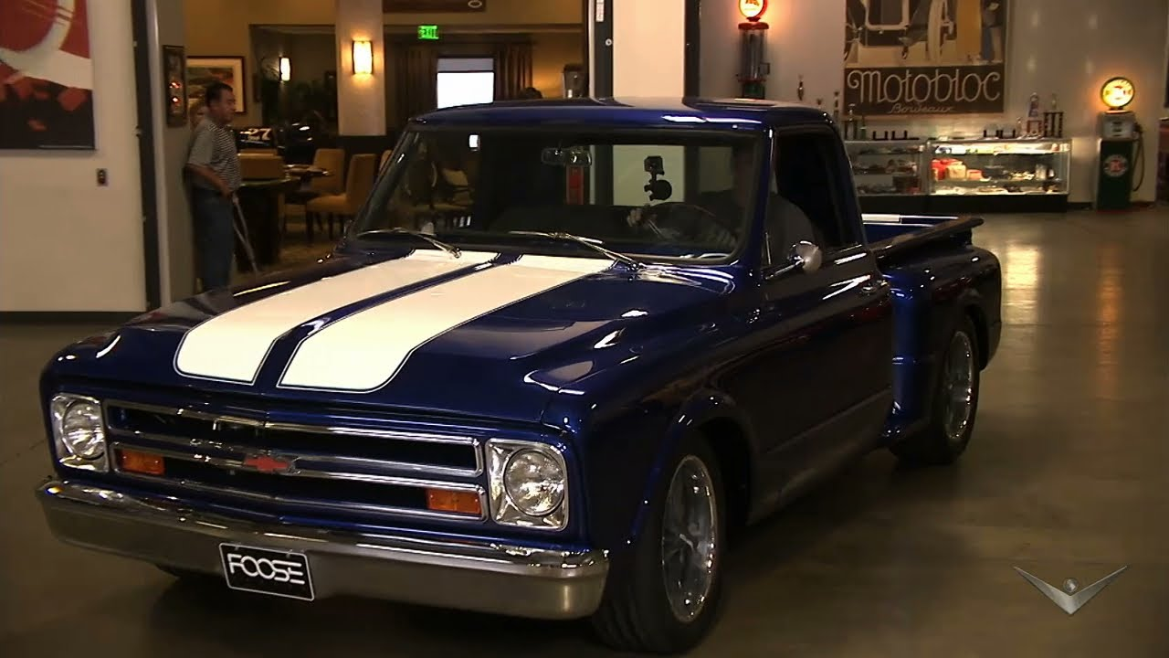 Revealing The 67 Chevy C10 Overhaulin Youtube Camionetas Chevrolet Modificadas