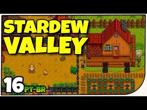 Stardew Valley #16 - Chegando no Outono - Gameplay em Português PT-BR