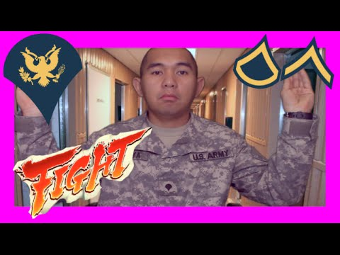 What Not To Do in the ARMY! E4 MAFIA VS  ARMY PRIVATE!