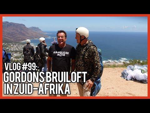 DE BRUILOFT VAN GORDON IN ZUIDAFRIKA  GERARD JOLING VLOG #99