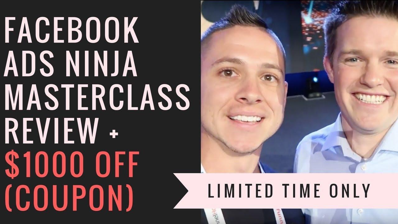 Facebook Ads Ninja Masterclass Review - Kevin David Course on Facebook Ads  (Code Below)