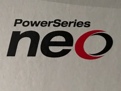demonstration of our new DSC Power Series Neo Security system!