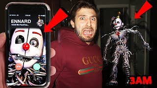 (HE ANSWERED!) CALLING ENNARD ON FACETIME AT 3AM | ENNARD CAME TO MY HOUSE AT 3AM! (GONE WRONG)