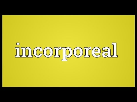 Header of incorporeal