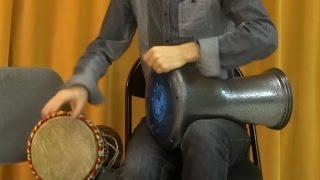 2 Darbuka Solo - Split Finger Technique and independence - Nicolas Leroy