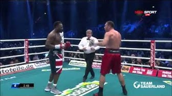 kubrat pulev vs dereck chisora highlights