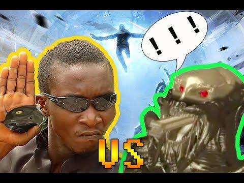 【吐嚎】非洲5毛特效版终结者大战铁血战士,看完真的流泪了