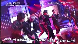 三代目 J Soul Brothers from EXILE TRIBE  J.S.B.happiness〜J.S.B.Dream〜J.S.B.Love