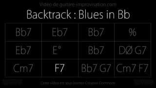 Bb Blues (110bpm) : Backing track