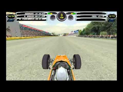 F1 Challenge VB || 1968 Season - Round 9 || Italy - Monza || McLaren Ford || Race - 13 Laps
