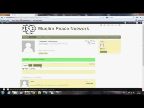 MPN create forum