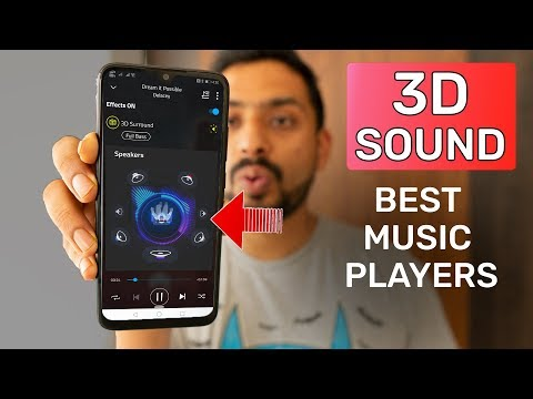 Top 6 Free Android Music Players In 2019 | 3D Sound | MEGA 4K TV Giveaway | GT Hindi
