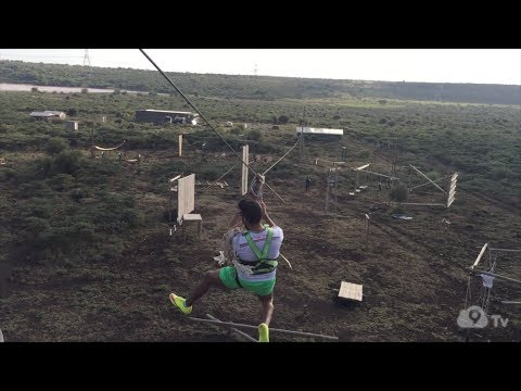 High Ropes behind the Ngong Hills | Ready, Set, Drone!
