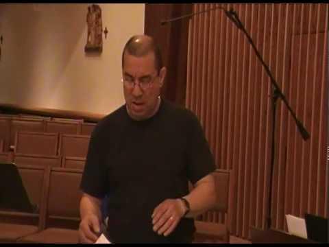 Dario Sings In These Days Of Lenten Journey 3-25-10