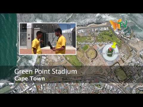 Cape Town Part 1 - Green Point Stadium. South Africa World Cup 2010 Eco Route