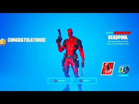 *NEW* FORTNITE DEADPOOL SKIN OUT NOW! FORTNITE DEADPOOL WEEK 7 CHALLENGES! (FORTNITE DEADPOOL EVENT)