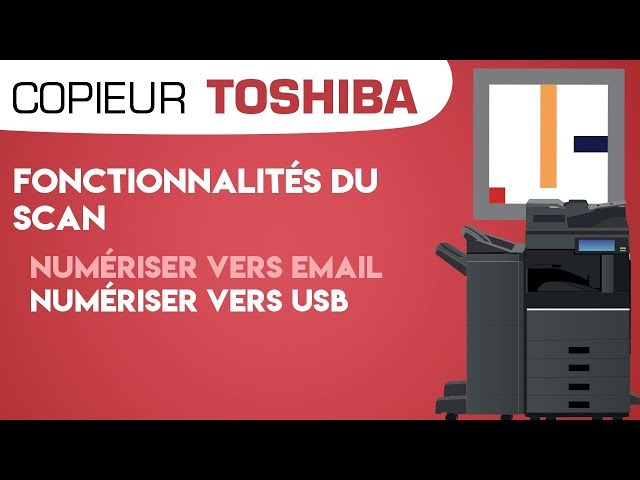 #18. Scan vers e-mail et scan vers USB