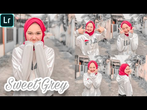 Tutorial Edit Foto Ala Selebgram Filter Sweet Grey | Lightroom Tutorial