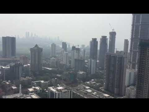 View from The world one tower#revolutionary skyscraper of Mumbai # transforming Mumbai