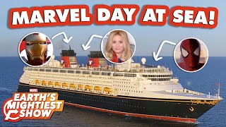 Disney Cruise's Marvel Day At Sea: Heroic Encounters and Adventure! | Earth's Mightiest Show Bonus
