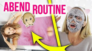 Meine ABEND ROUTINE 💕😱 Zuckerwatten Badeschaum, Bubble Maske im LIVE TEST | XLAETA