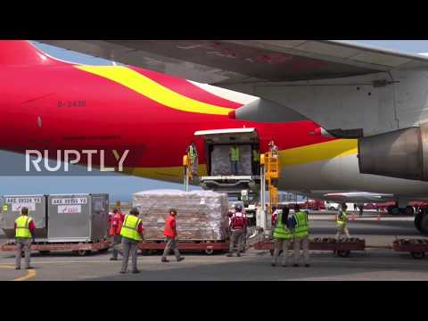 Venezuela: China delivers first batch of humanitarian aid