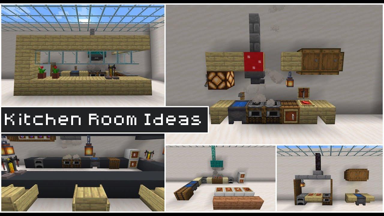 Minecraft: 50+ Kitchen Build Hacks and Ideas - YouTube