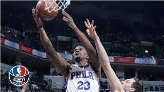 Jimmy Butler's 27-point night leads the 76ers past the Pacers | NBA Highlights