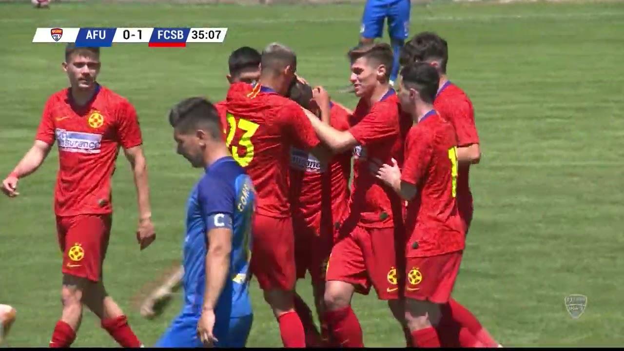 REZUMAT: FCSB II, la un meci de o finală cu Steaua. CS Afumaţi - FCSB II 0-1