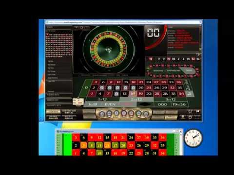 Roulette keyboard